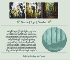 Green Forest Profile [NOT FREE] (1/2)