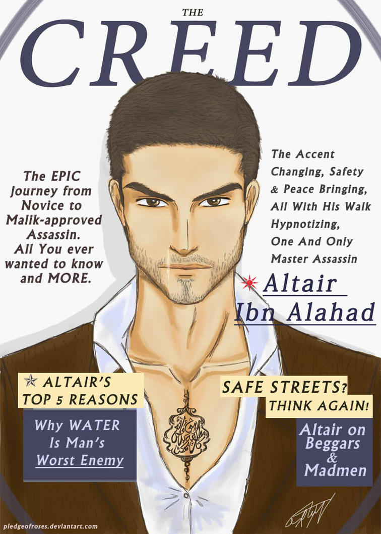 THE CREED MAGAZINE (2/?) by PledgeOfRoses