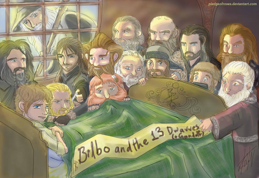 bilbo and gandalf meet
