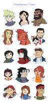 Final Fantasy Cast Busts