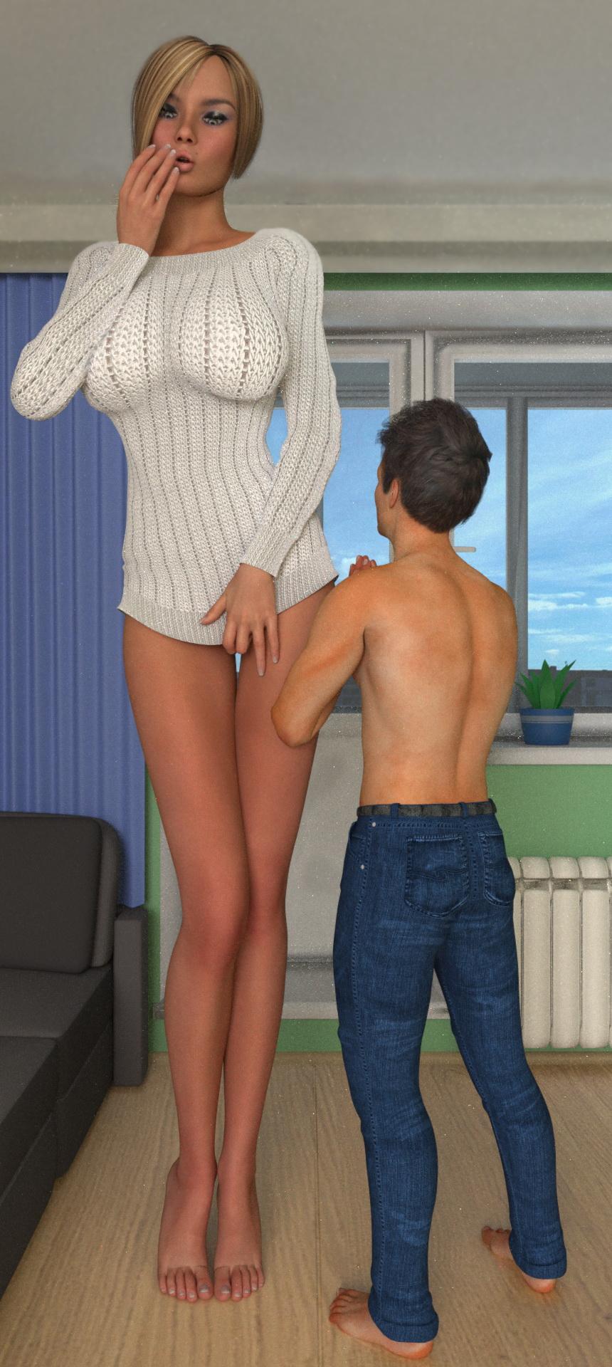 Amazon woman midget sexy scenes