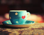 Heart cup. ..