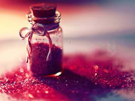 Glitter magic... by addy-ack