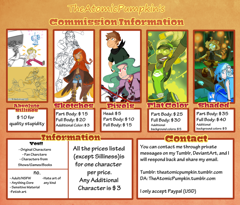 TheAtomicPumpkin's COMMISSIONS. by TheAtomicPumpkin