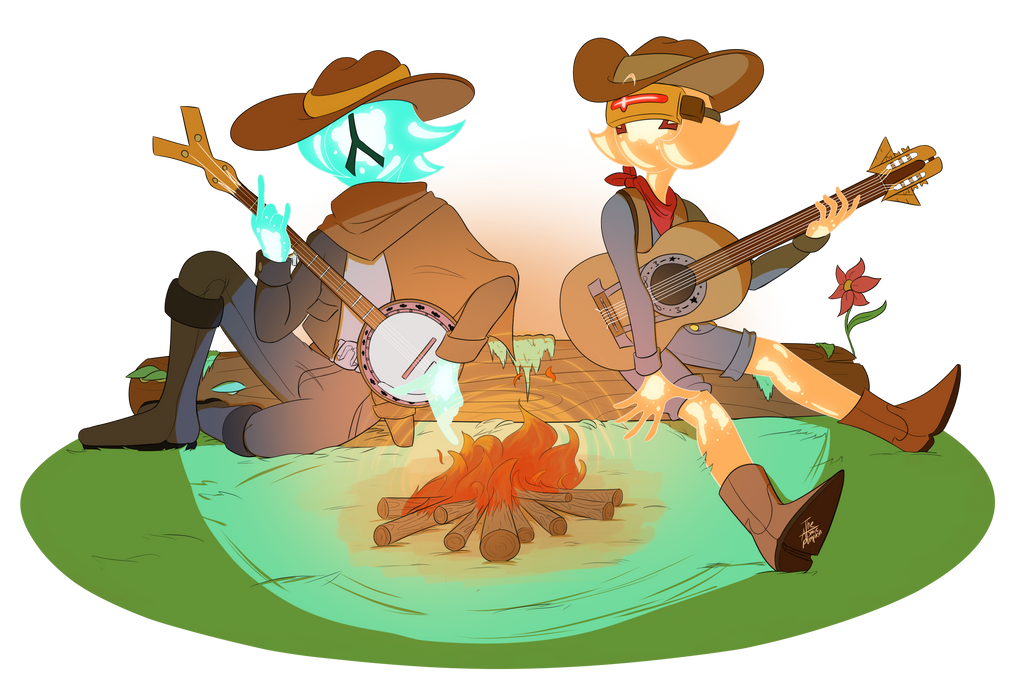 Tumblr Commission - Starbounding by TheAtomicPumpkin