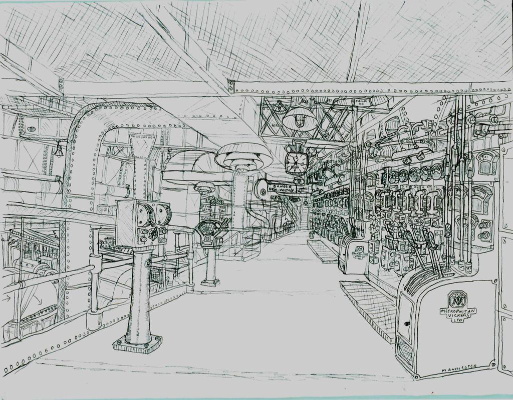 Engine Rooms London