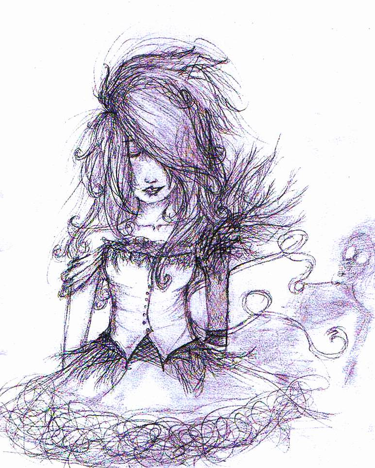 Vivre Sketch By Gothic Batgirl