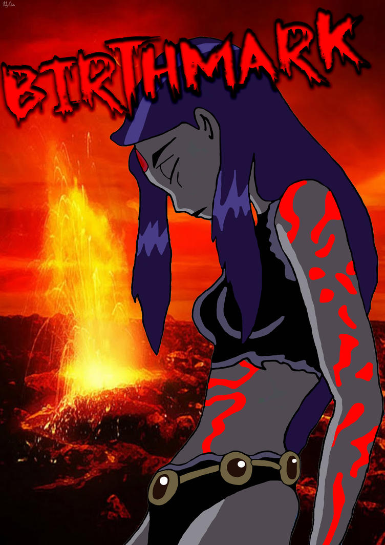 deviant art teen titans birthmark