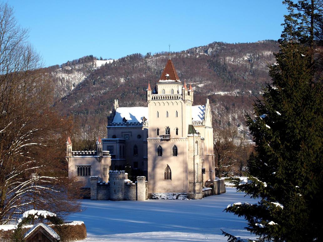 fairy castle by Burtn
