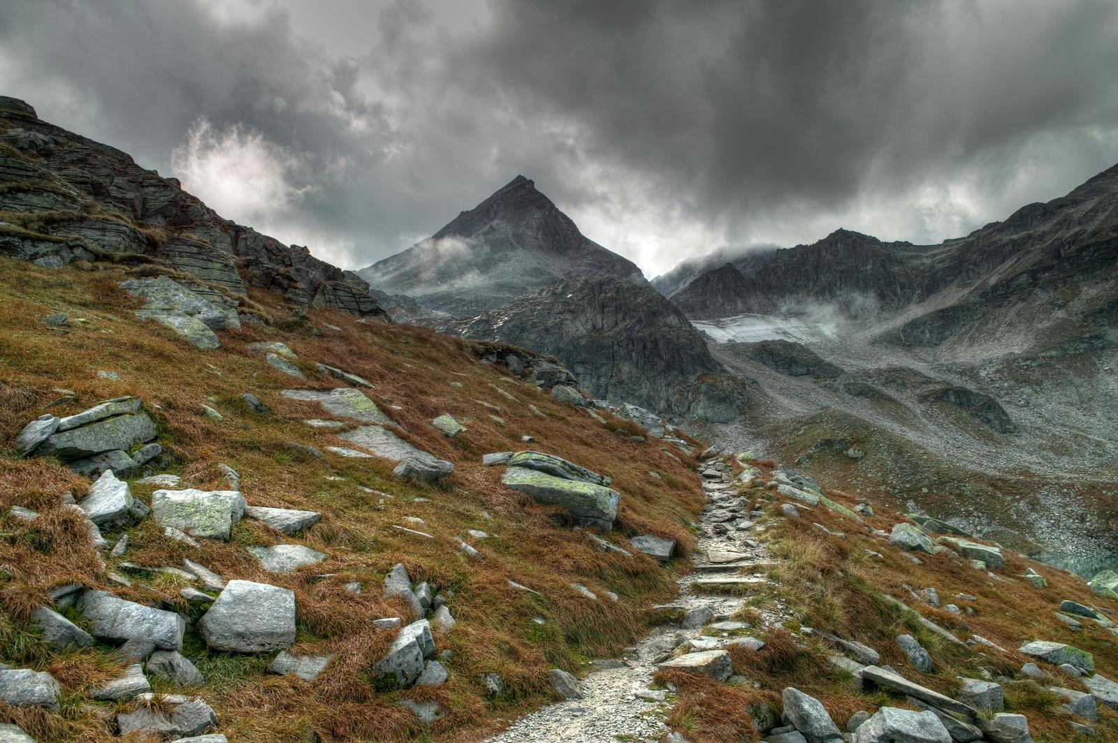 Mountain Trail by Burtn on DeviantArt