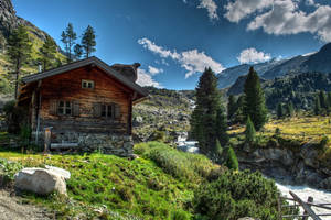 Mountain Home by Burtn