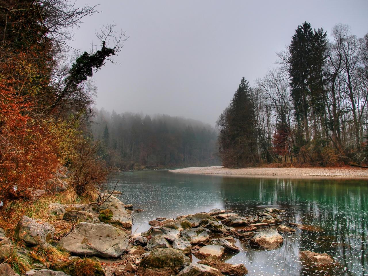 My Moody River by Burtn