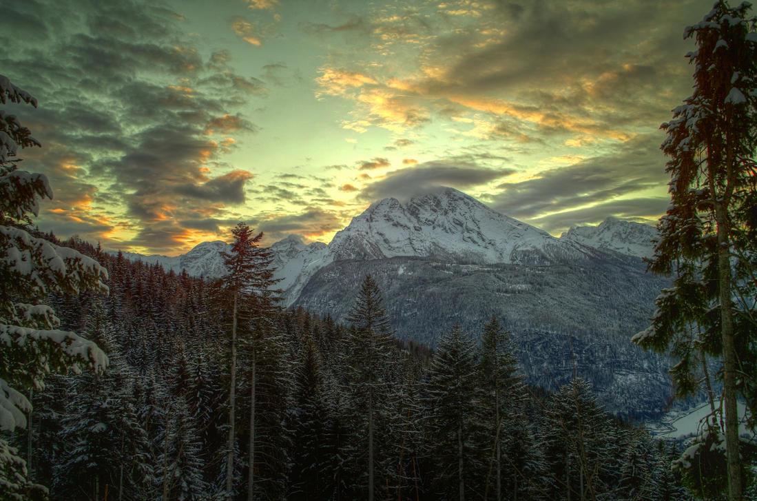Winter Sky by Burtn