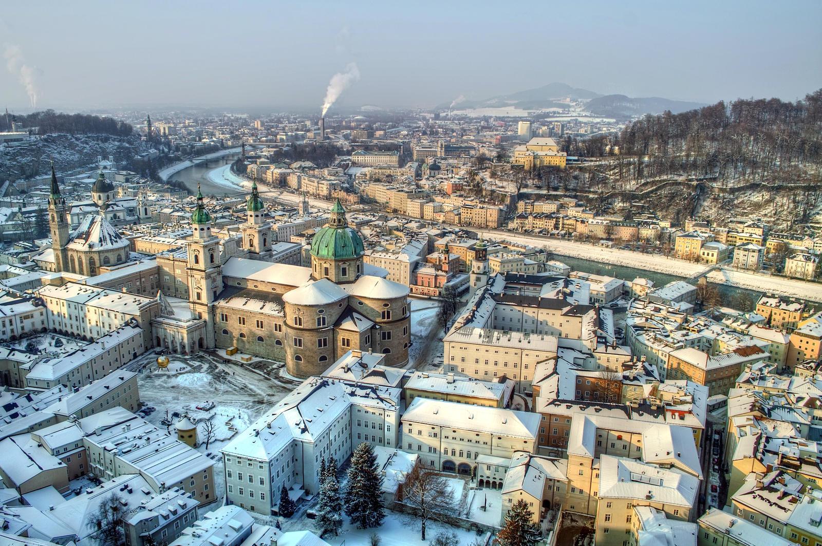 City of Salzburg by Burtn