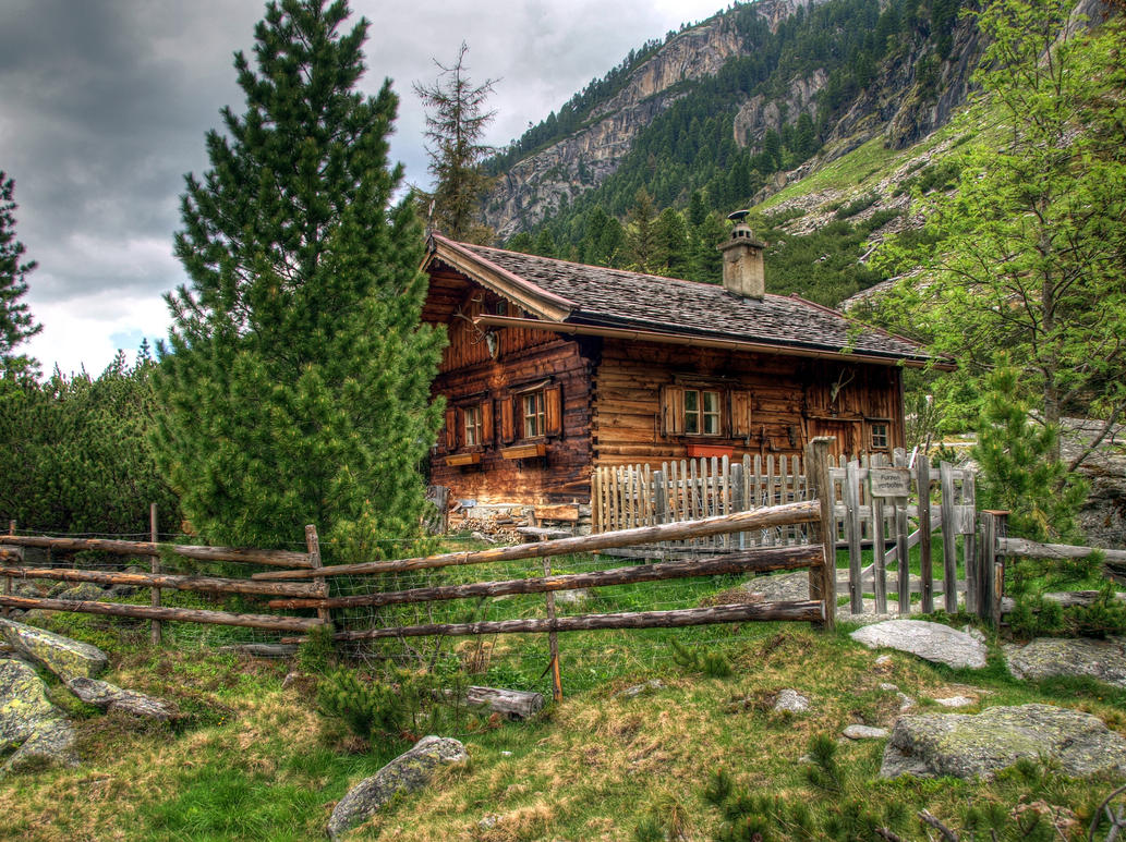 Cosy home by burtn on deviantart for Piani di log cabin lodge