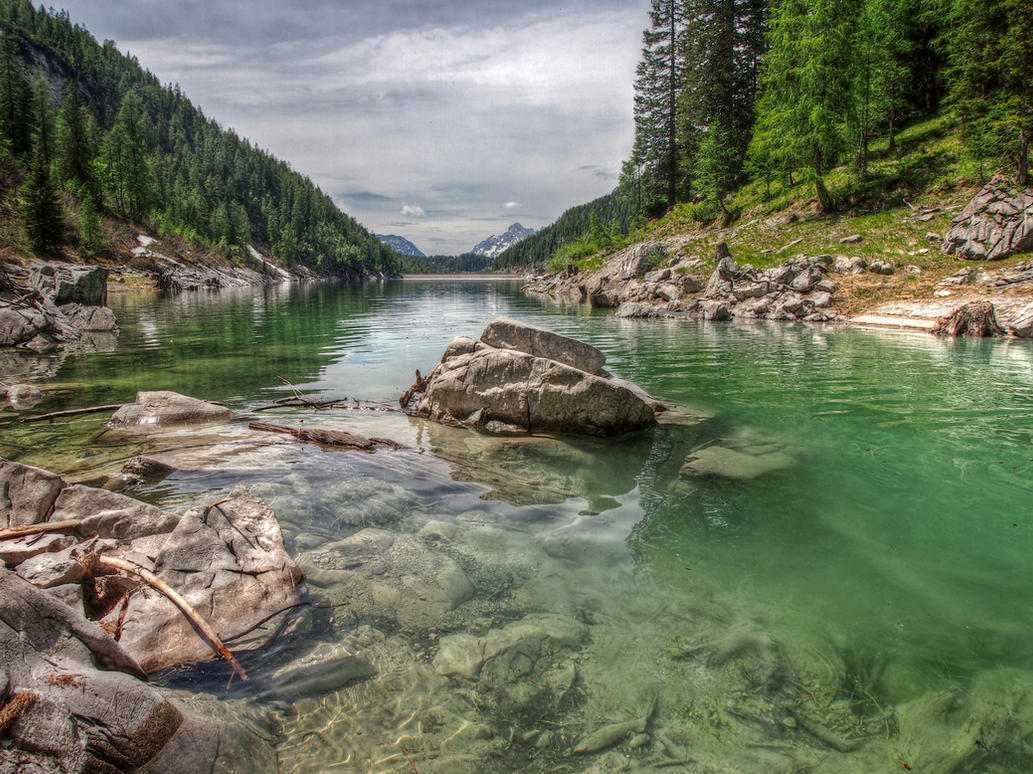 At The Lake-HDR by Burtn