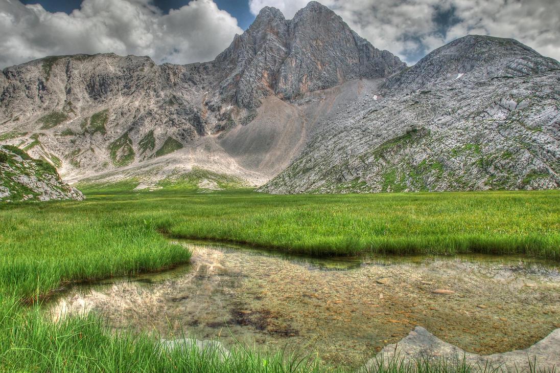Mountain Ground 2nd by Burtn