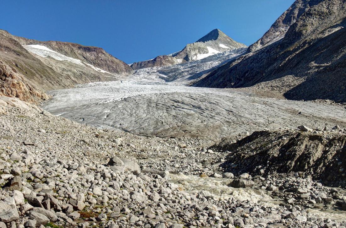 Glacier World by Burtn