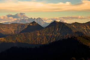 Mountainscape Background by Burtn