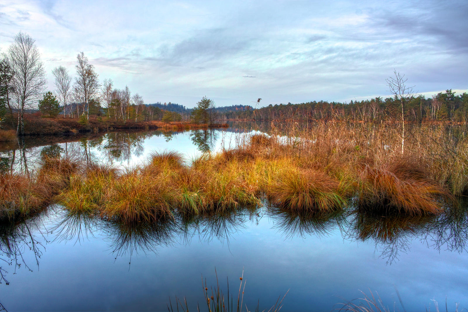 Calm Lake by Burtn
