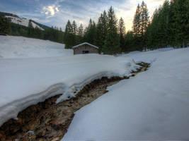 Little Winterscape by Burtn