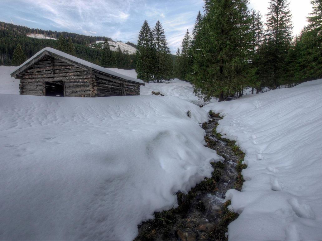 Little winterscape 2nd by Burtn