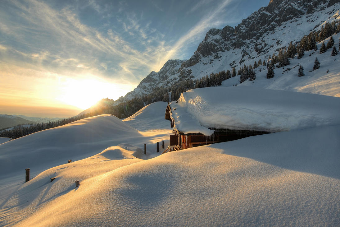 Springtime In Austria by Burtn
