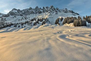 Mountain Range by Burtn