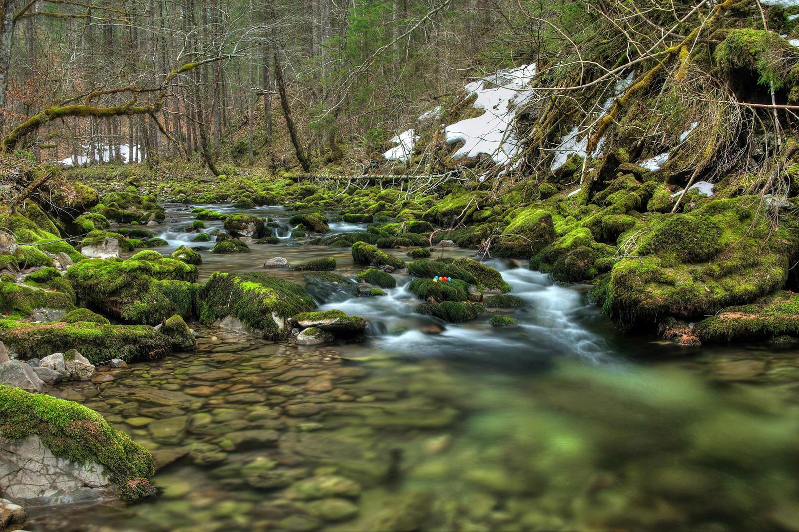 Easter Creek Background by Burtn