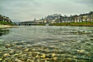 River Salzach by Burtn