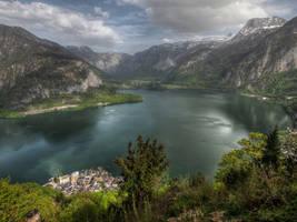 Over The Deep Lake by Burtn