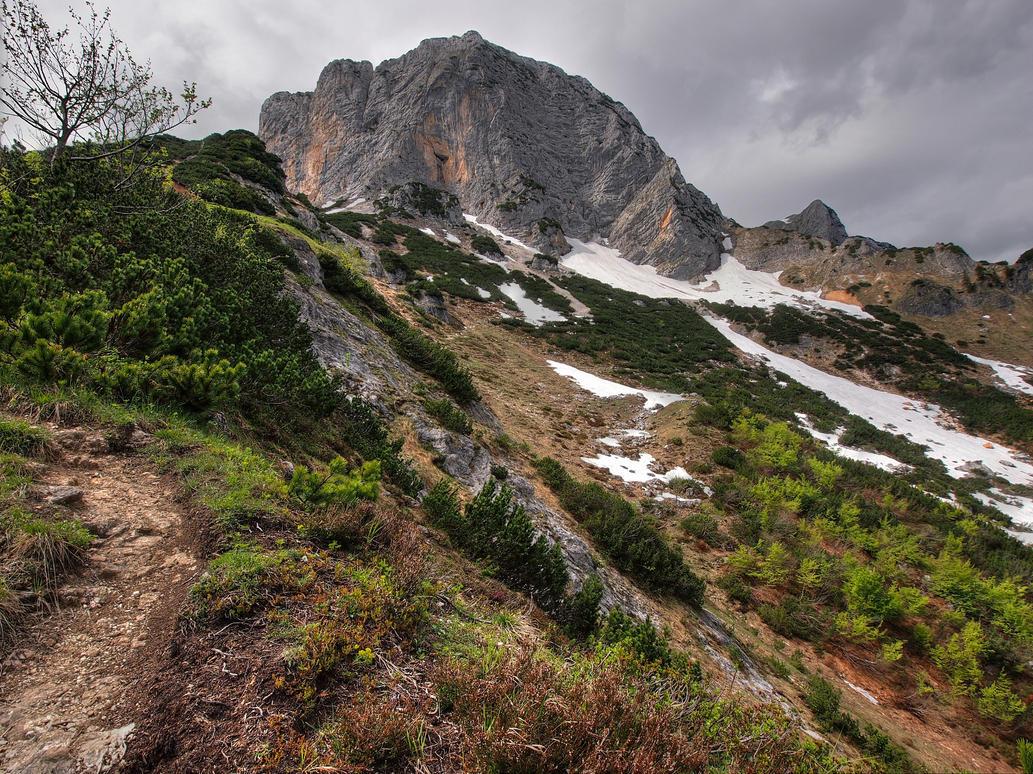 Steep Path by Burtn