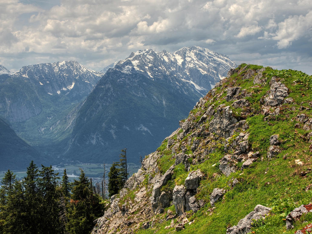 On The Black Mountain by Burtn