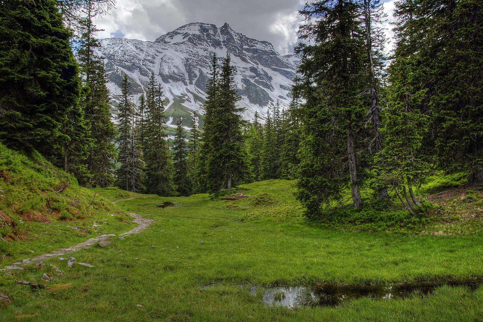 Mount Sonnblick by Burtn