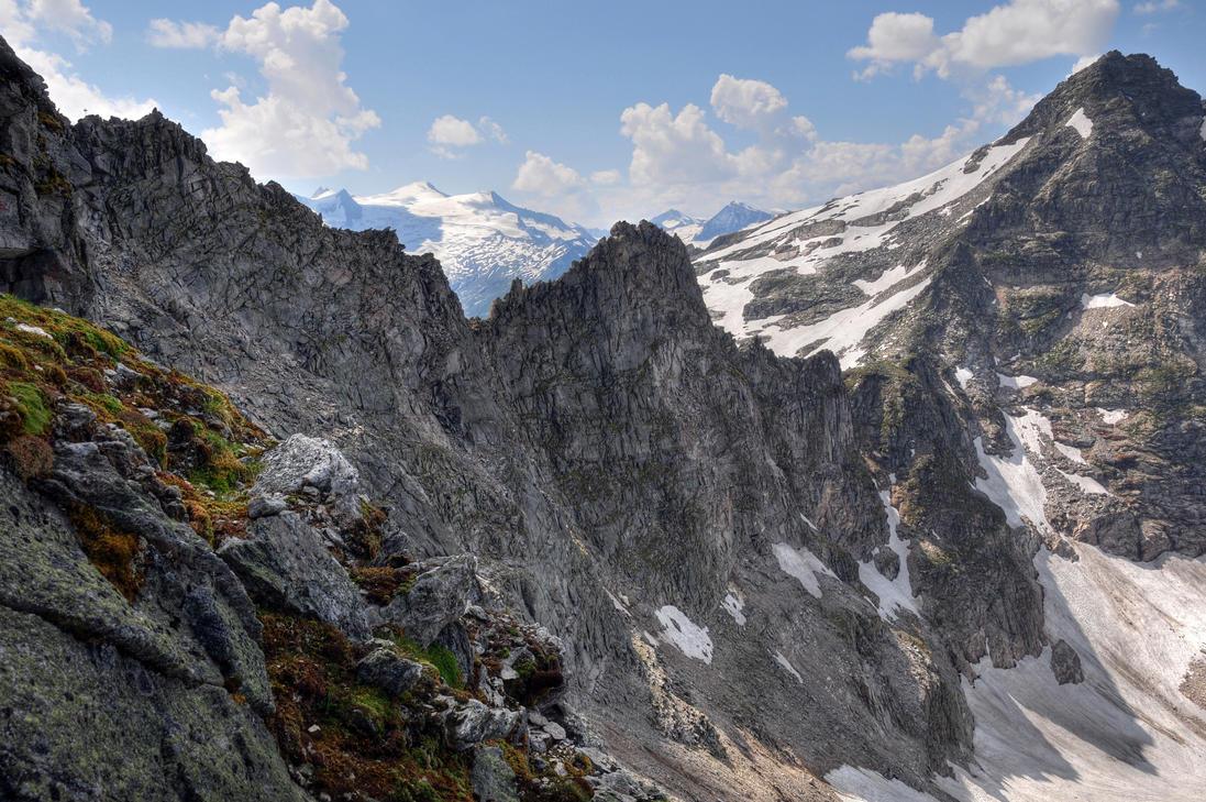 Summer Mountainscape by Burtn
