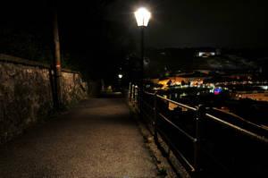 Sleepy Old Town by Burtn
