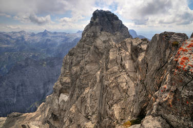Mount Watzmann by Burtn