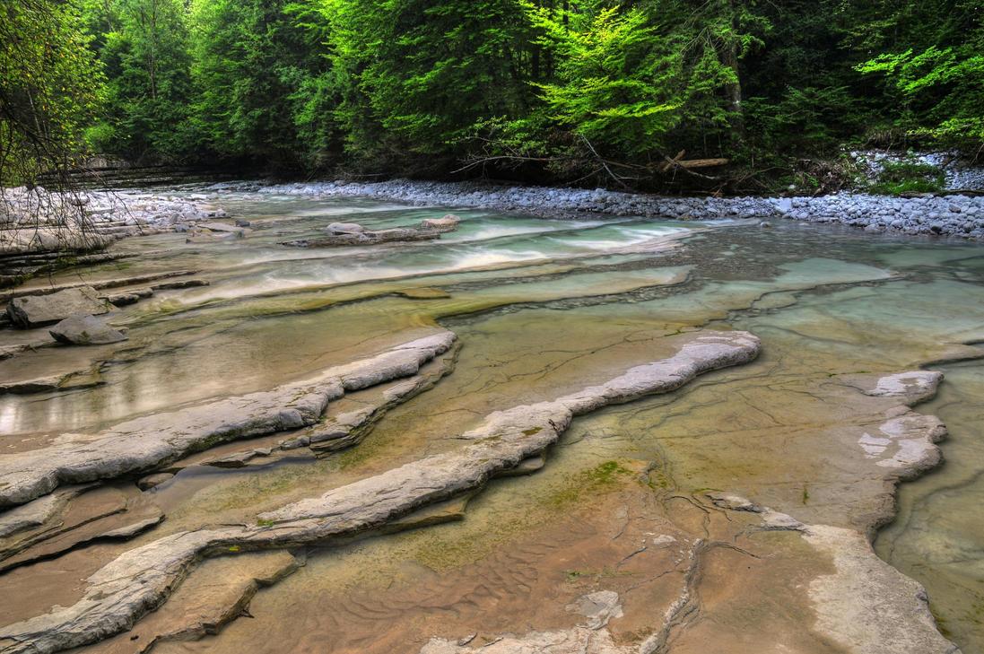 Calm River by Burtn
