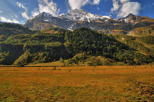 Autumn Mountainscape 2nd by Burtn