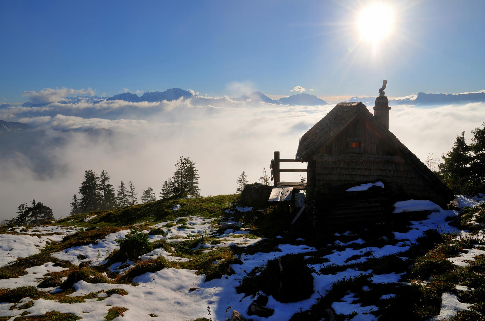 The Cabin Over The Clouds 2nd by Burtn