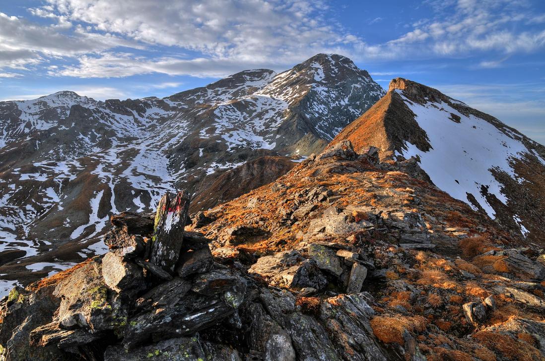 Frozen Rocks by Burtn