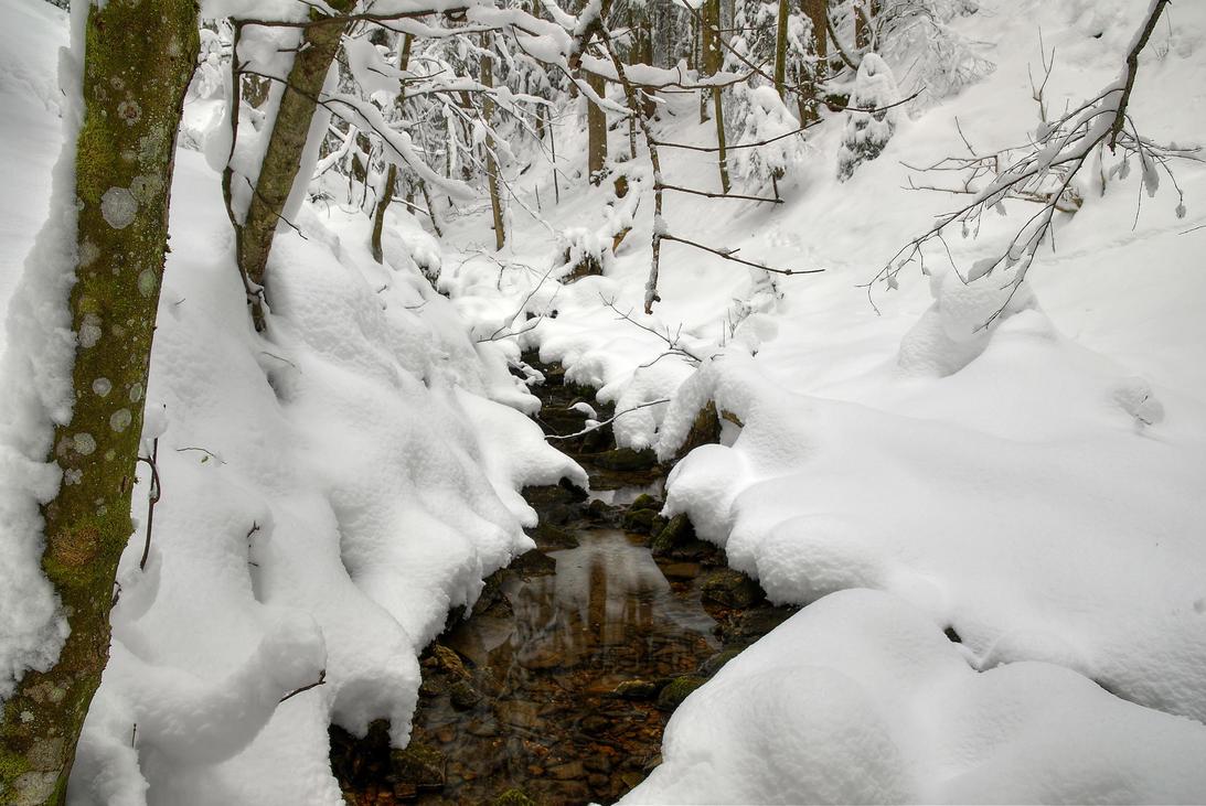 Little Snowy Creek by Burtn