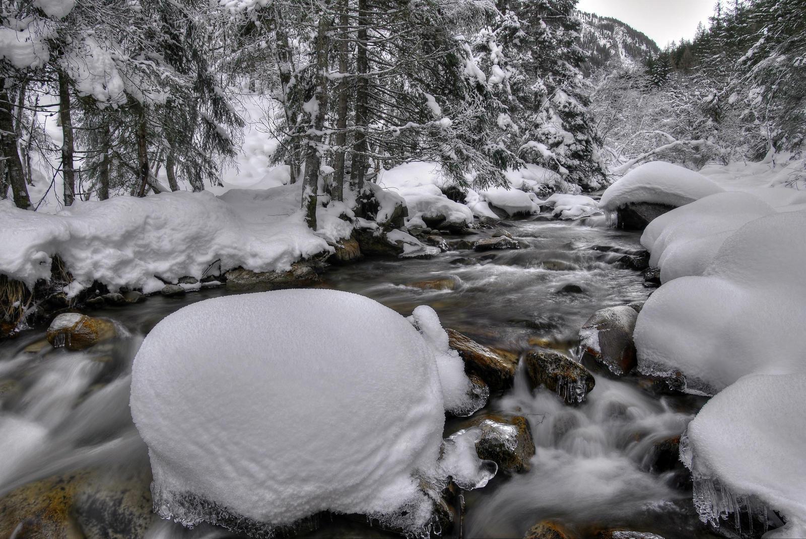 Freezing Riverscape by Burtn