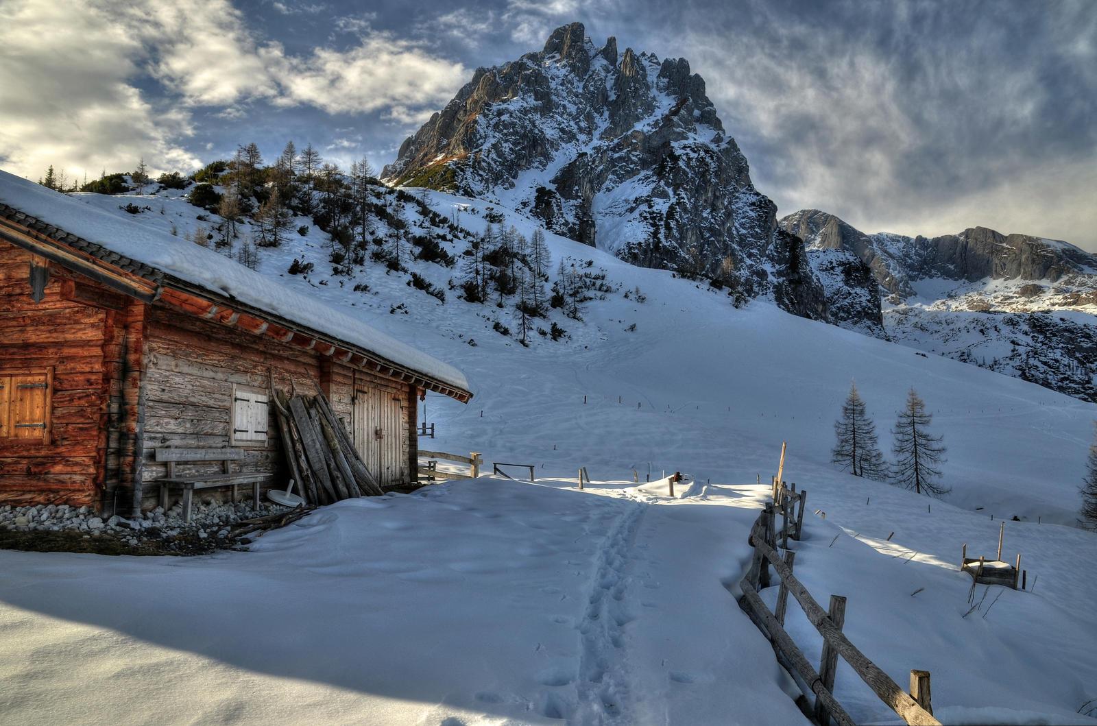 At The Cabin by Burtn