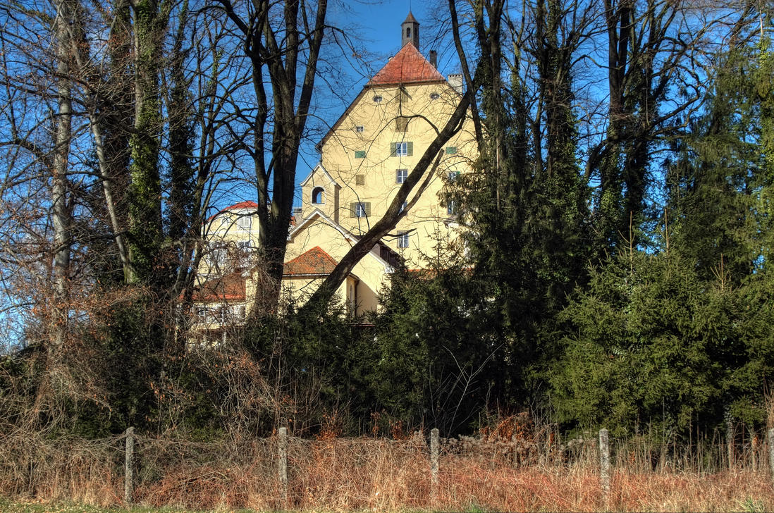 Hidden Castle Background by Burtn