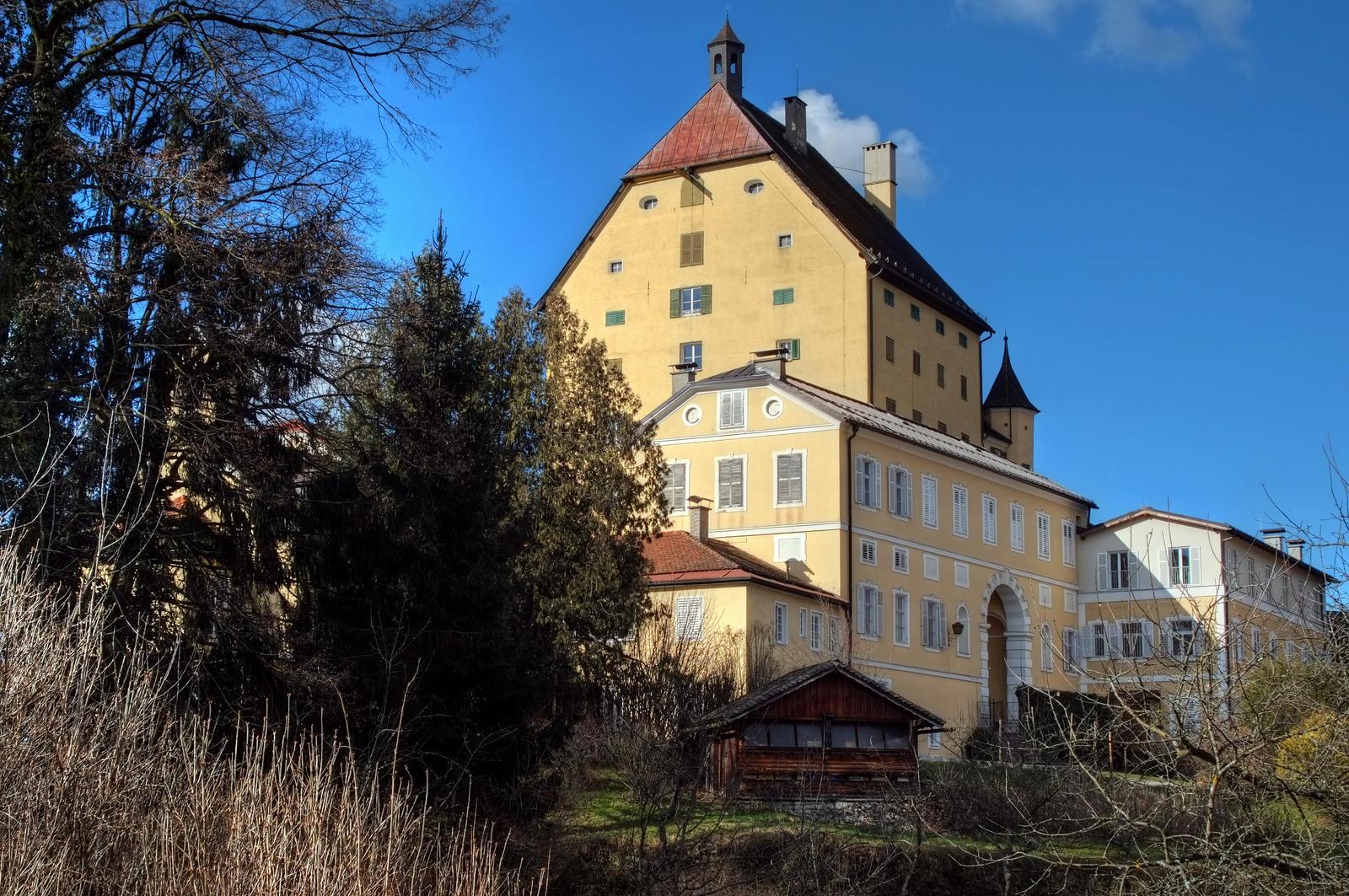 Castle Background by Burtn