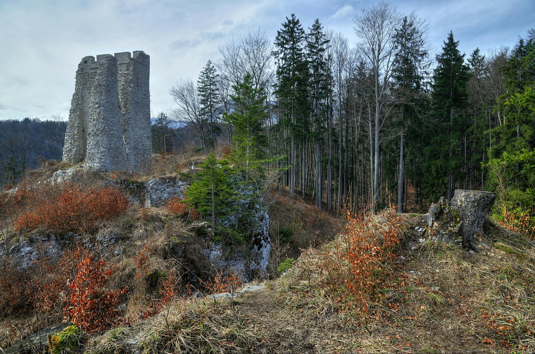 The Old Castle by Burtn