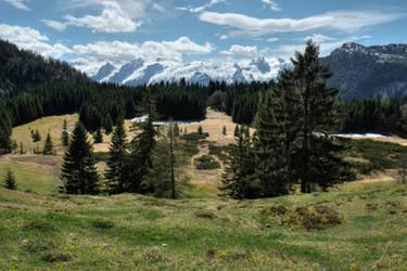Little Moor In The Alps by Burtn