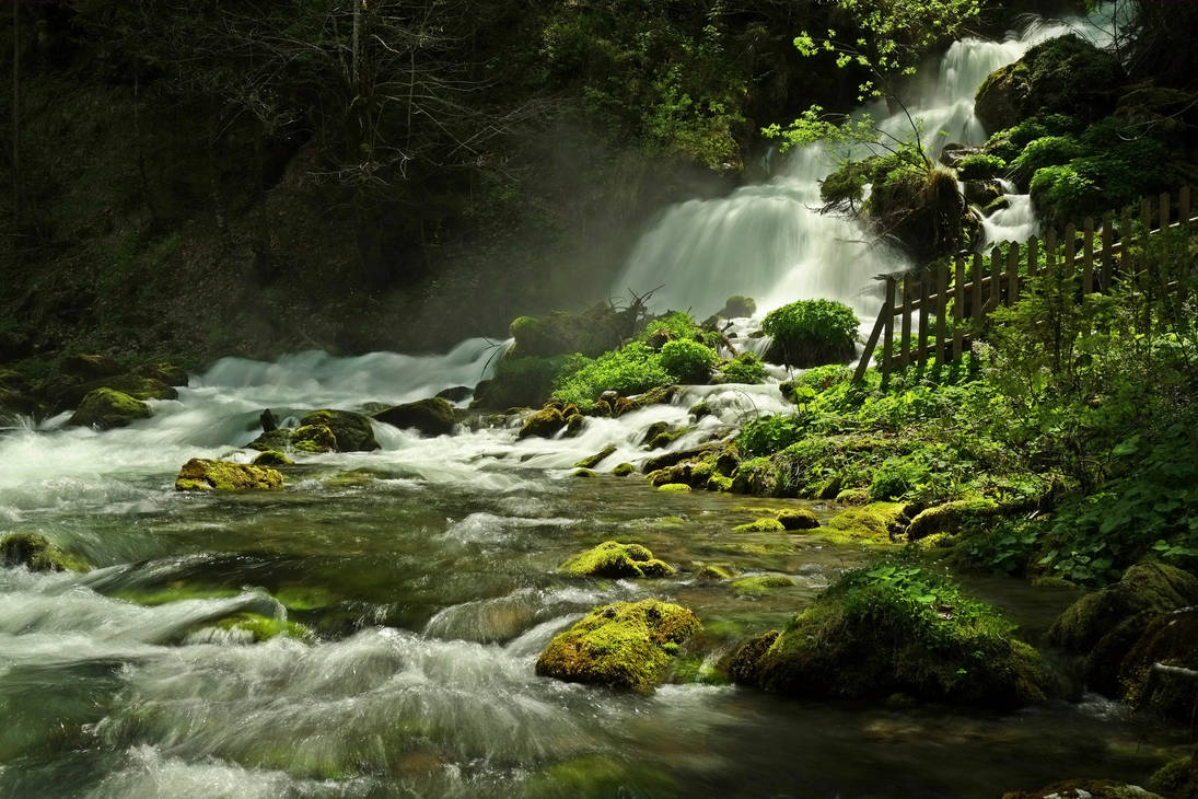 Sparkling Waters by Burtn