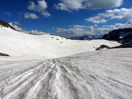 Glacierscape Background by Burtn